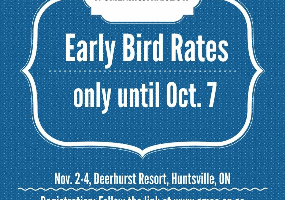 Early Bird pricing for Interlude 2017 ENDS at 12am, Sunday, Oct 7th.